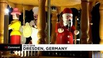 Άνοιξε η χριστουγεννιάτικη αγορά της Δρέσδης