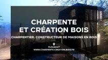 Charpente & Création Bois, concepteur de charpente traditionnelle et d'ossature bois à Plouagat