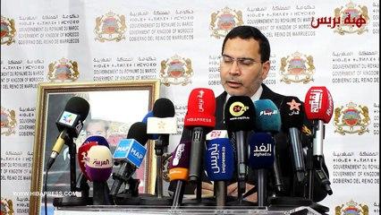الخلفي: المغرب سيبقى منفتحا و متفائلا ازاء المستقبل لعلاقة المغرب و الجزائر