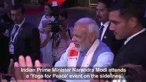 Modi brings yoga diplomacy to G20 summit