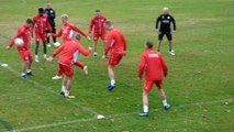 Vidéo 3 entraînement du Slavia Prague au Pian-Médoc