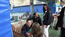 FFT - Interclubs 2018 - Tatjana Maria adoptée par les filles du Tennis Club de Paris qui aiment les années paires !