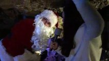 A Santa Claus Tour At The Wookey Hole Caves!