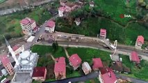 Rize'de Dere Yatağında Olduğu İçin Yıkılan Binalar Yerini Yeşil Alana Bırakacak-İha