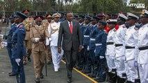 Cadets' Commissioning Parade at KENYA MILITARY ACADEMY (Lanet)