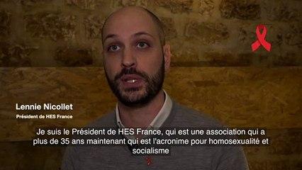 Le PS est mobilisé aux cotés des acteurs de la lutte contre le sida / Lennie Nicollet, président de HES - 5/5