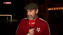 Eric Cantona sur les planches du théâtre Antoine à Paris