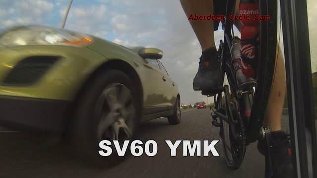 SV60YMK - Close Pass Against Oncoming Traffic - B9119 Westhill, Aberdeen