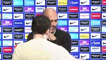 Pep Guardiola looks ahead to English Premier League meeting with Bournemouth