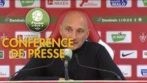 Conférence de presse Stade Brestois 29 - AC Ajaccio (2-0) : Jean-Marc FURLAN (BREST) - Olivier PANTALONI (ACA) - 2018/2019