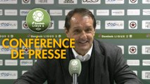 Conférence de presse Red Star  FC - ESTAC Troyes (0-3) : Faruk HADZIBEGIC (RED) - Rui ALMEIDA (ESTAC) - 2018/2019