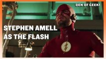 Elseworlds: Stephen Amell Talks Green Arrow and The Flash Swap