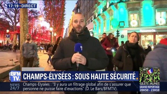 Gilets jaunes acte 3: Les Champs-Élysées barricadés