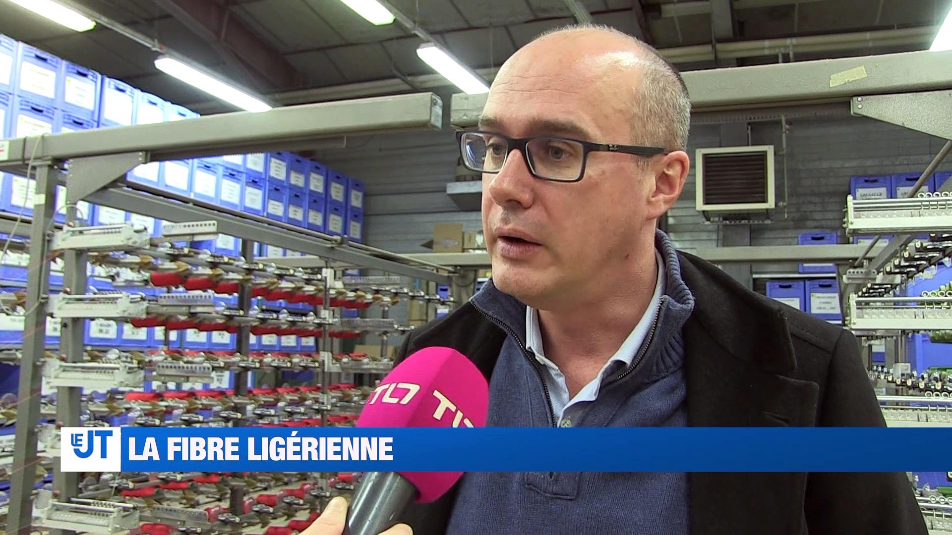 A la Une : Nous avons suivi le raccordement à la fibre du 100 000e client de la Loire. D'ici 2020, toutes les communes rurales auront Internet en Très Haut Débit.