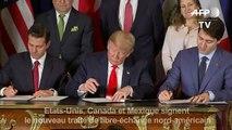 Etats-Unis, Canada et Mexique signent un traité de libre-échange