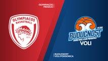 Olympiacos Piraeus - Buducnost VOLI Podgorica Highlights | Turkish Airlines EuroLeague RS Round 10