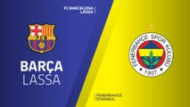 FC Barcelona Lassa - Fenerbahce Istanbul Highlights | Turkish Airlines EuroLeague RS Round 10