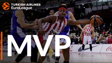 Round 10 MVP: Zach LeDay, Olympiacos Piraeus