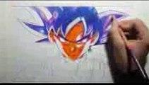 Speed Drawing Goku Black Ultra InstinctHow to draw