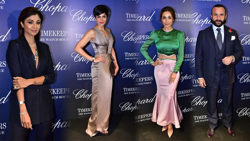 Shilpa Shetty & other celebs dressed in gorgeous outfits at Chopard Timekeepers event | Boldsky