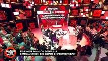 """Incident hier soir dans 'Balance ton post"""" sur C8 avec Eric Naullau quand plusieurs femmes du public sont montées sur la table"""