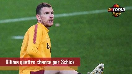 Calciomercato Roma: Schick, quattro partite per meritarsi la Roma