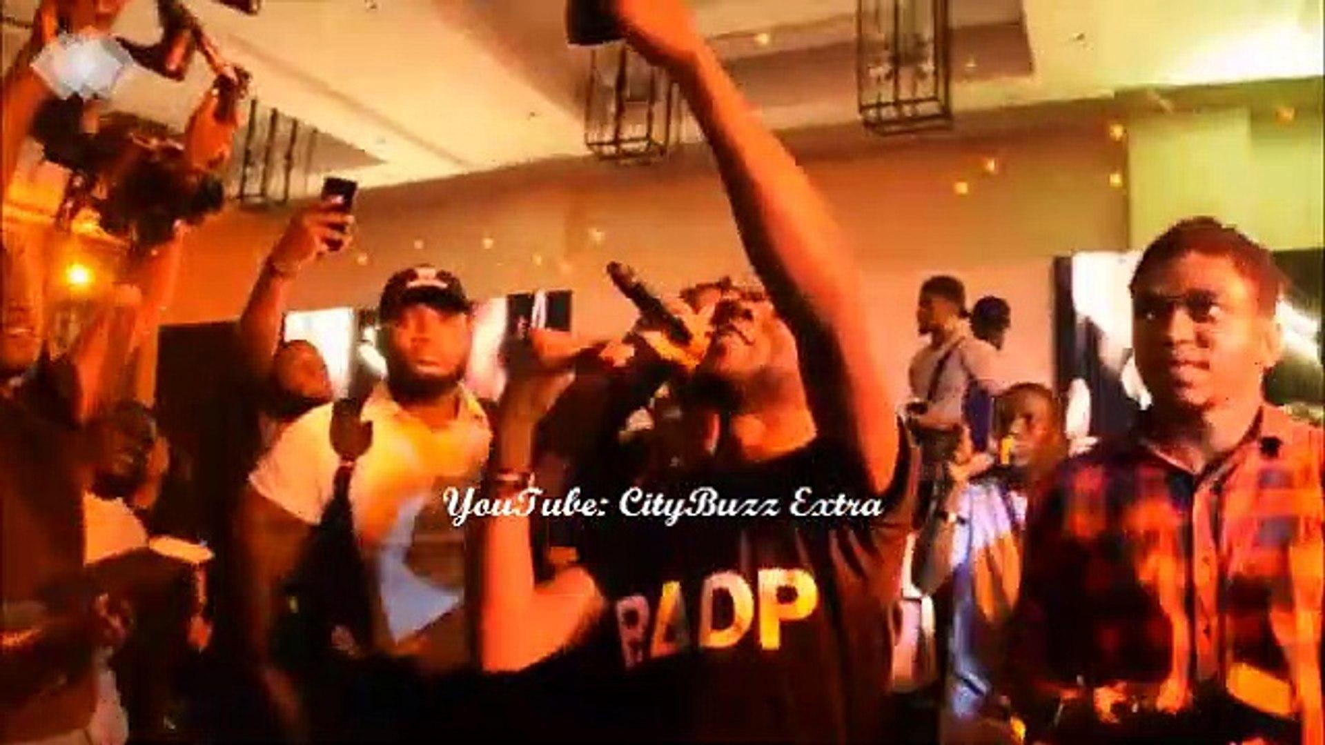 Olamide Entertains Rio Ferdinand in Lagos, Nigeria