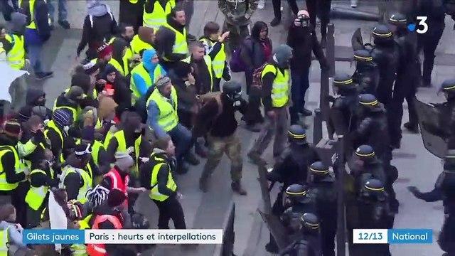 """""""Gilets jaunes"""" : heurts et interpellations sur les Champs-Élysées"""
