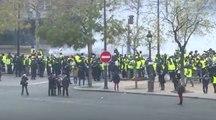 Fransız polisinden eylemcilere acımasız müdahale