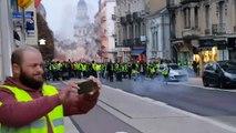 Gilets jaunes: situation très tendue ce 1er décembre à Bourg-en-Bresse