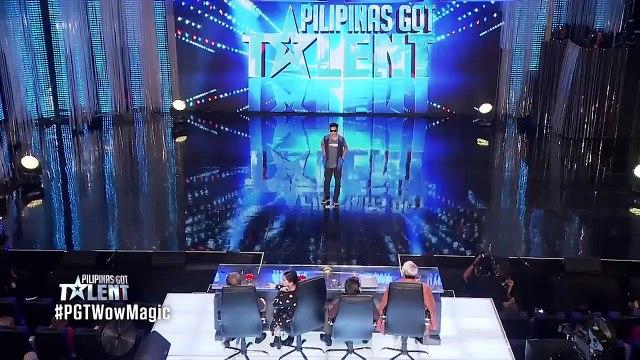 Magician Jepthah Callitong WOWS Judges on Pilipinas Got Talent 2017 - Magicians Got Talent