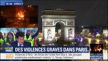 """""""Nous sommes en train de rétablir l'ordre"""" à Paris, affirme sur BFMTV le secrétaire d'État Laurent Nunez"""