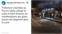 Gilets jaunes. La préfecture de Haute-Loire a été incendiée