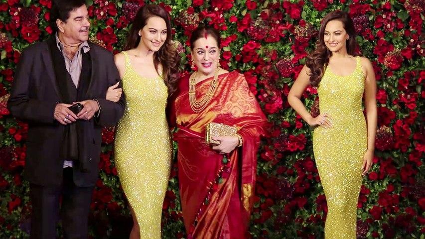 Deepika और Ranveer के Reception में Sonakshi Sinha का दिखा खूबसूरत अंदाज | Boldsky