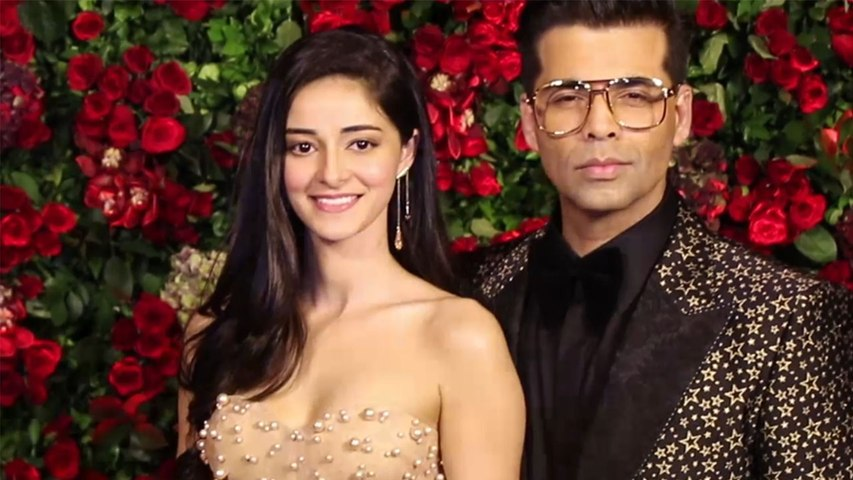Deepika & Ranveer Reception: Karan Johar arrives with Ananya Panday in trendy attire | Boldsky