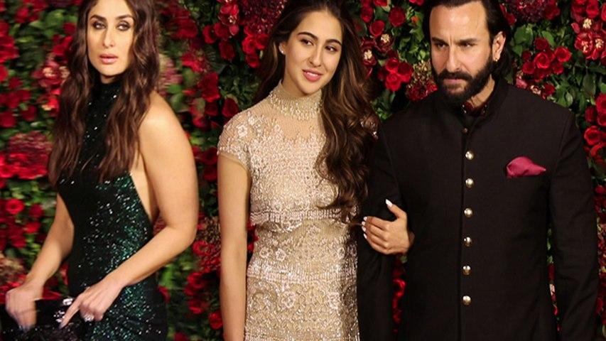 Deepika & Ranveer Reception: Kareena Kapoor ignores Sara Ali Khan at DeepVeer's B-Town Bash |Boldsky