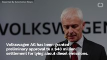 VW May Settle For Paying Investors $48m Over Diesel Emissions Scandal