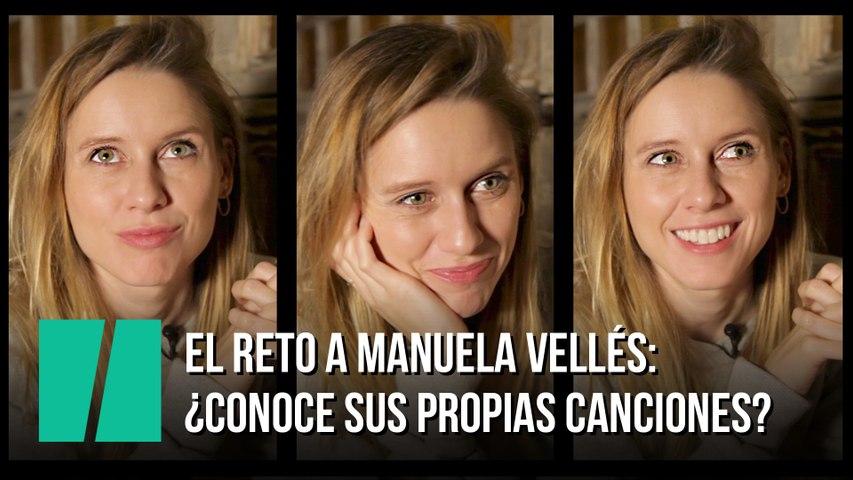 El reto a Manuela Vellés: ¿Conoce sus propias canciones?