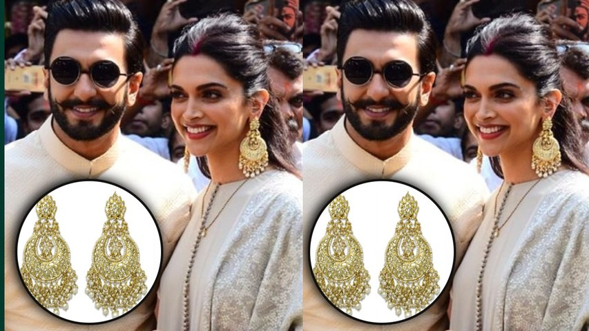 Deepika Padukone wears costly big chandbali earrings as she visits Siddhivinayak temple | Boldsky