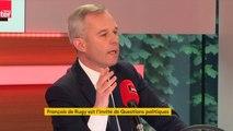 """François de Rugy : """"Tous ceux qui ont encouragé ces manifestations doivent assumer leurs responsabilités"""""""