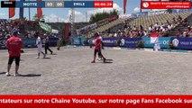 Europétanque des Alpes-Maritimes 2018 : Demi-finale MOTTE vs EMILE