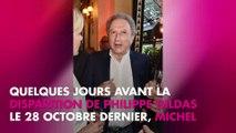 """Michel Drucker : son """"grand regret"""" après le décès de Philippe Gildas"""