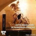 Statue défigurée, des œuvres saccagées… Les casseurs s'en sont pris à des symboles dans l'Arc de Triomphe