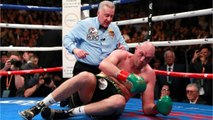 Tyson Fury Gets Off Canvas To Draw Deontay Wilder