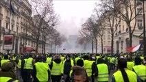 Gilets jaunes: un jeune Jurassien a filmé les affrontements à Paris