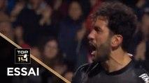 TOP 14 - Essai Maxime MERMOZ (ST) - Toulouse - Paris - J11 - Saison 2018/2019