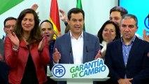 Andalucía da un giro histórico a la derecha tras irrumpir Vox y hundirse el PSOE