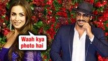 Malaika Arora COMMENTS On Arjun Kapoor PIC From #DeepVeer Reception