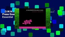 D.O.W.N.L.O.A.D [P.D.F] Crowdsourcing (MIT Press Essential Knowledge) (MIT Press Essential