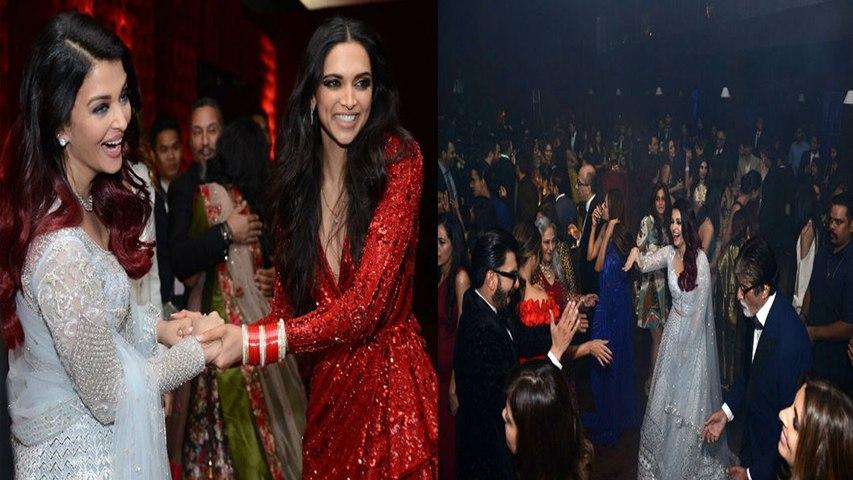 Deepika और Ranveer के Reception में Aishwarya Rai ने किया सास Jaya Bachchan संग डांस | Boldsky